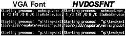 Download HVFULLSC - Video Card and CPI Fonts