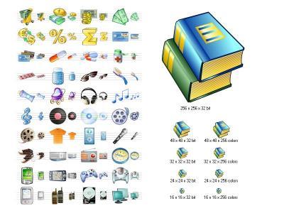 Download i-Commerce Icon Set
