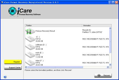 Download iCare Format Recovery