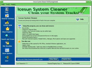 Download Icesun System Cleaner