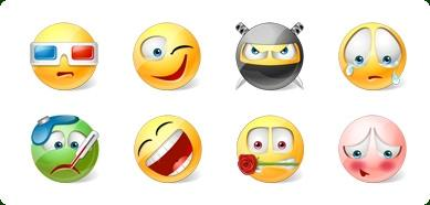 Download Icons-Land Vista Style Emoticons