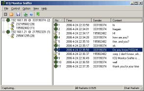 Download ICQ Monitor Sniffer