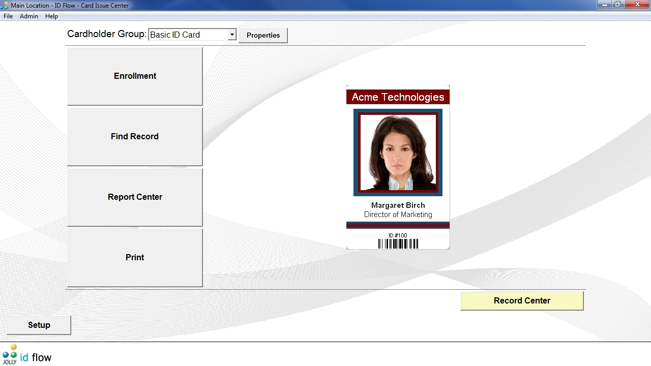 Id Flow Id Badge Maker Software