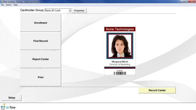 Download ID Flow Free ID Card Software