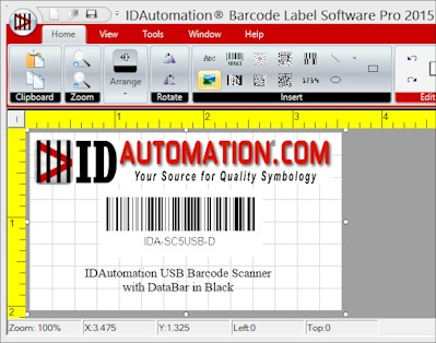 Download IDAutomation Barcode Label Software