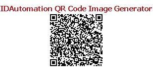 Download IDAutomation QR Code Image Generator