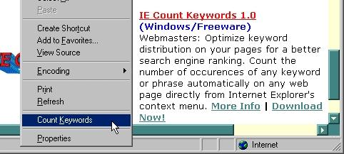 Download IE Count Keywords