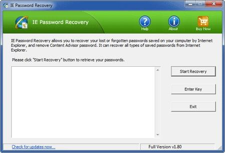 Download IE Password Recovery