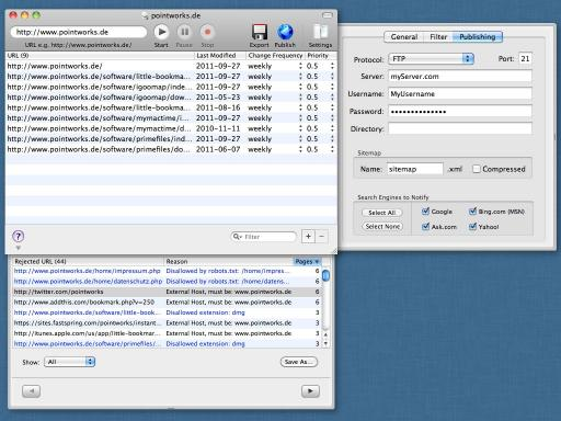 Download iGooMap - XML Sitemap Generator