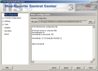 Download IIS Mod-Rewrite Pro