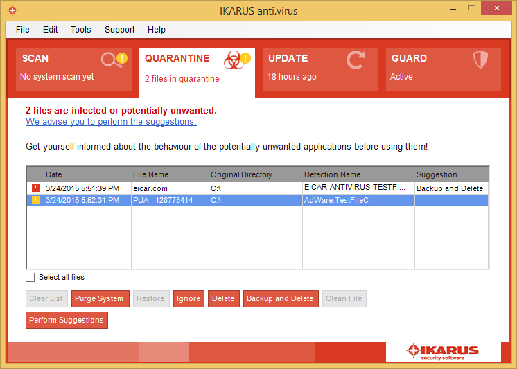 Download ikarus anti. Virus 2. 16. 25.