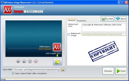 Download Image File Watermark Software