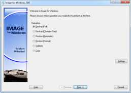 Download Image for Windows with IFD GUI