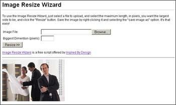Download Image Resize Wizard