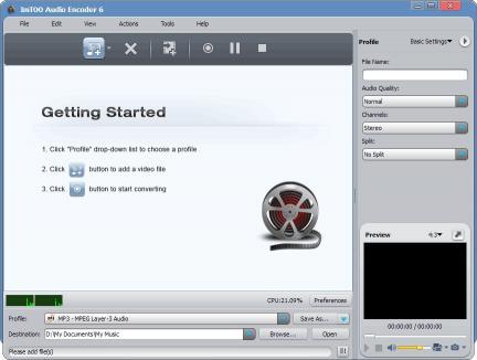 Download ImTOO Audio Encoder