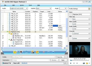 Download ImTOO DVD Ripper Platinum