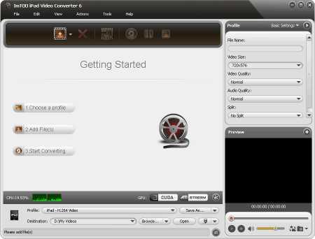 ImTOO iPad Video Converter