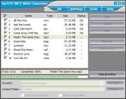 Download ImTOO MP3 WAV Converter