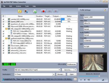 Download ImTOO PSP Music Suite
