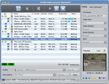 Download ImTOO Video Converter Standard for Mac