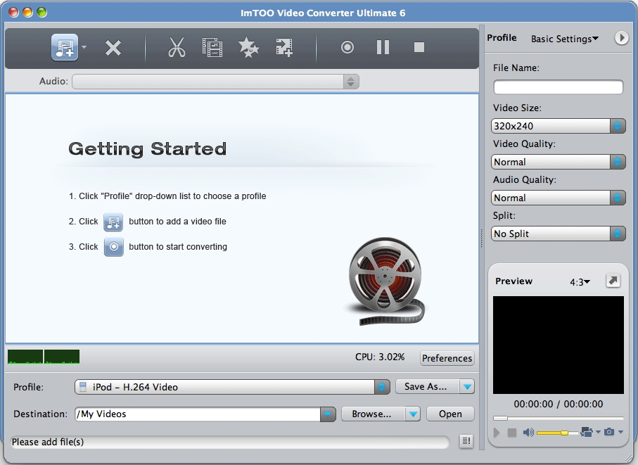 Imtoo video converter ultimate for mac guide, video file converter.