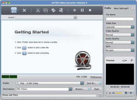 Download ImTOO Video Converter Ultimate for Mac