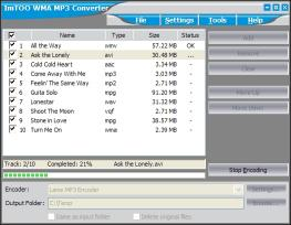 Download ImTOO WMA MP3 Converter