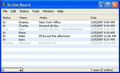 Download In-Out Board