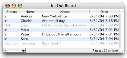 Download In-Out Board Mac