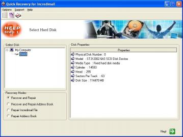 Download Incredimail Data Recovery by Unistal