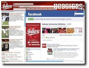 Download Indiana Hoosiers IE Browser Theme