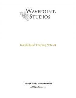 Download InstallShield Training