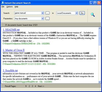 Download Instant Document Search