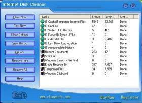 Download Internet Disk Cleaner