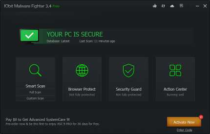 Download IObit Malware Fighter
