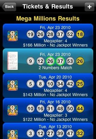 Download iPhone Lottery App Lottotopia