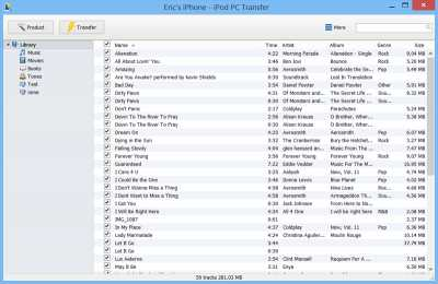 iPod PC Transfer