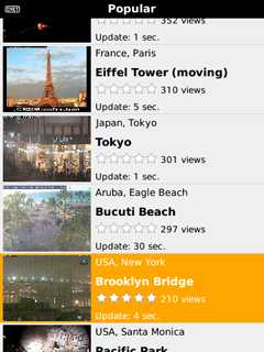 iSpyCams for BlackBerry for Mobile