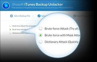 Download Jihosoft iTunes Backup Unlocker