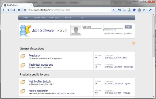 Download Jitbit Forum