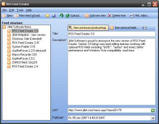 Download Jitbit RSS Feed Creator