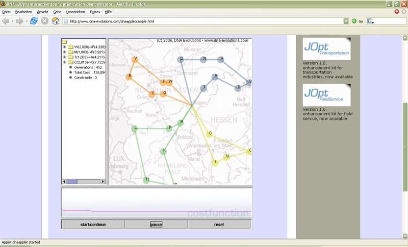 JOpt SDK - vehicle routing library - standaloneinstaller com