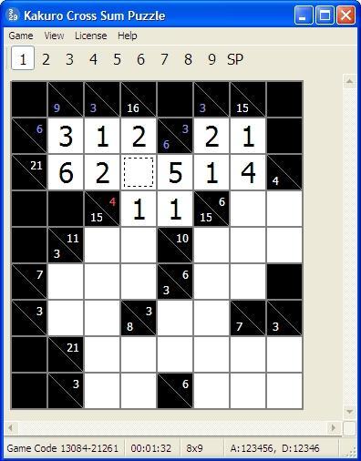 Download Kakuro Cross Sums Puzzle