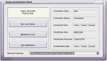 Download Kazaa Acceleration Patch
