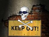 Download Keep Out (Direct3D) Screen Saver