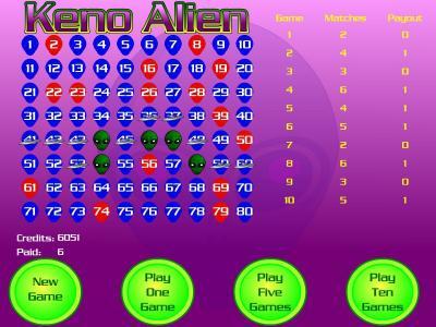 Download Keno Aliens