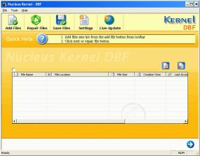Download Kernel DBF - Repair corrupt DBF files