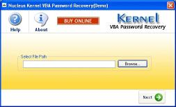 Download Kernel VBA Password Recovery