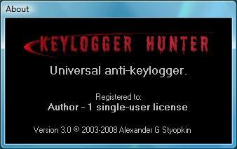 Download Keylogger Hunter