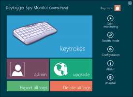 Download Keylogger Spy Monitor